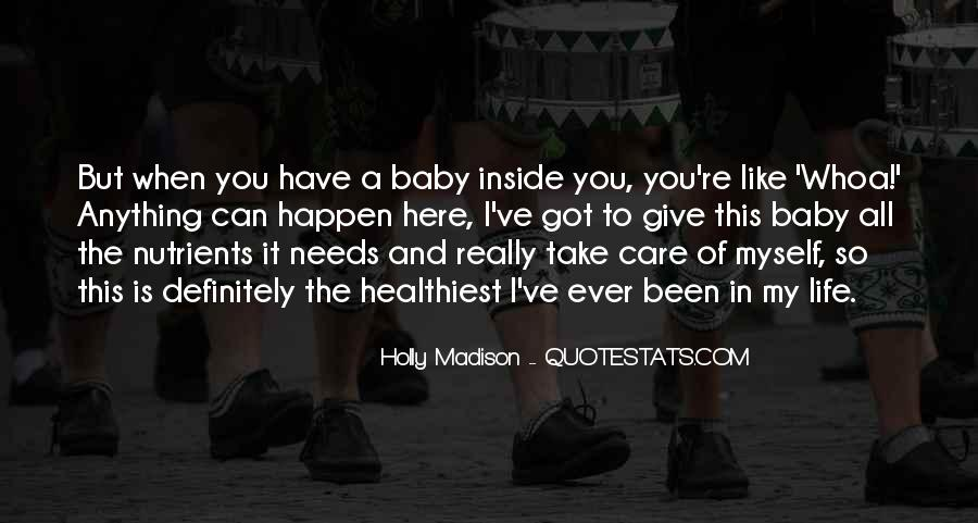 You're My Baby Quotes #117035