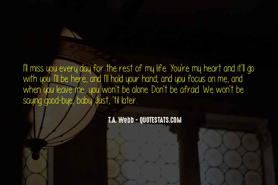 You're My Baby Quotes #1757732