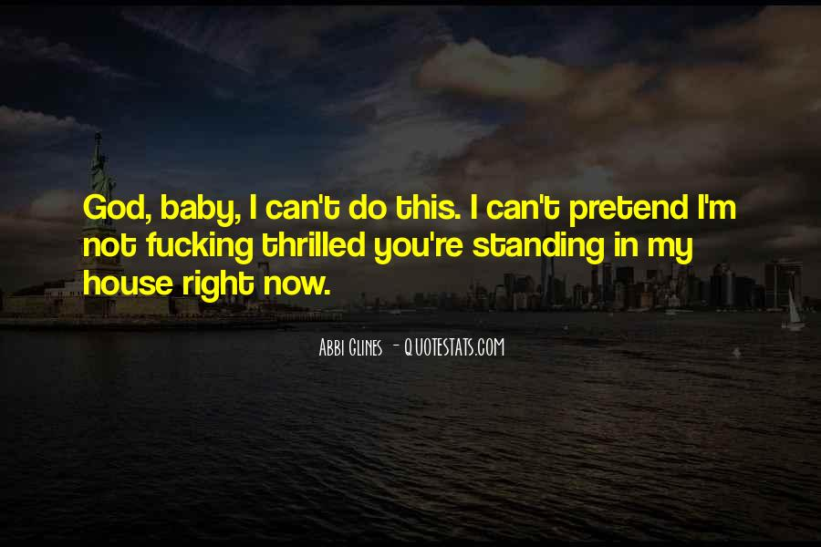 You're My Baby Quotes #346624