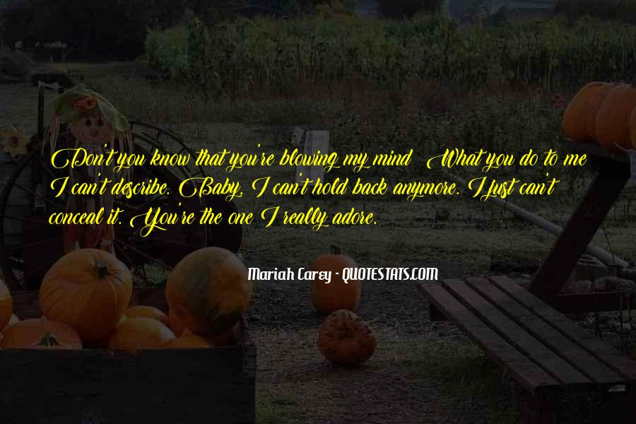 You're My Baby Quotes #561140