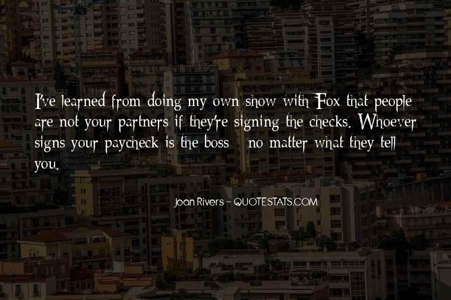 You're Not My Boss Quotes #1283414