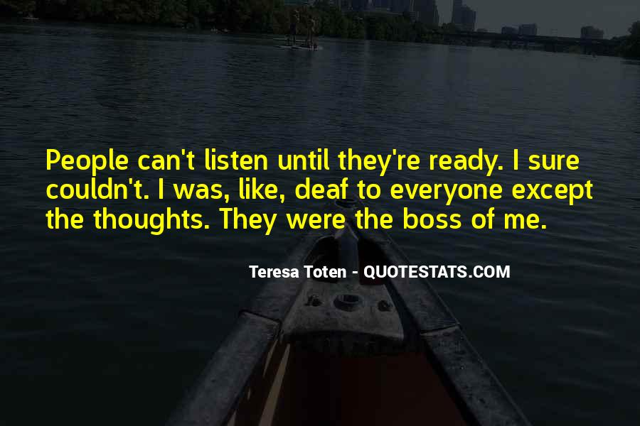 You're Not My Boss Quotes #41885