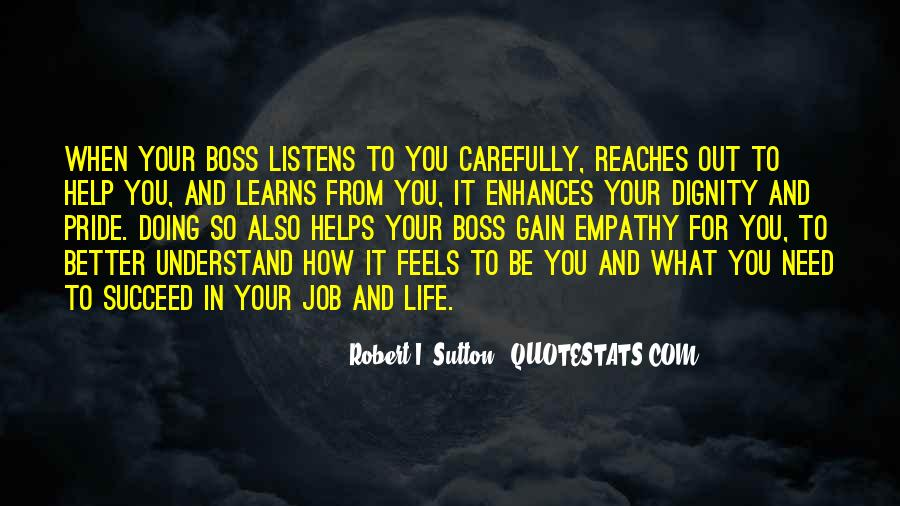 You're Not My Boss Quotes #46975