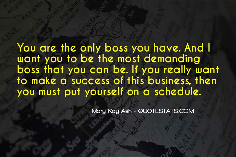 You're Not My Boss Quotes #56685