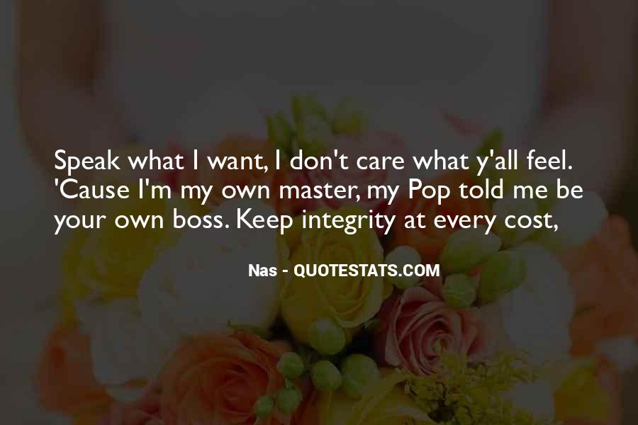 You're Not My Boss Quotes #65578