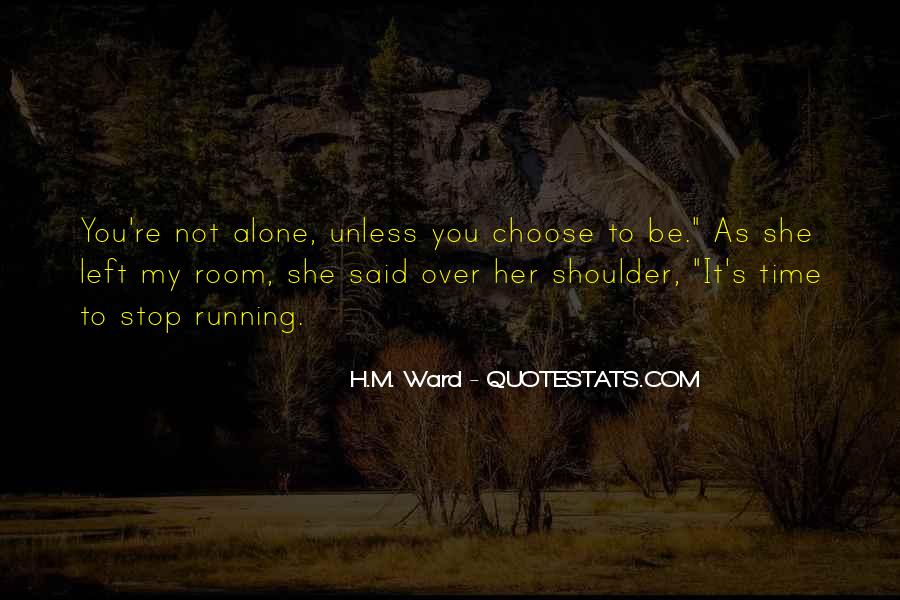 You're Not Over Her Quotes #179604