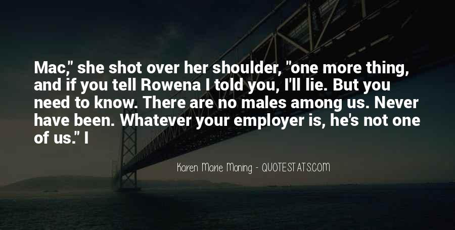 You're Not Over Her Quotes #491351