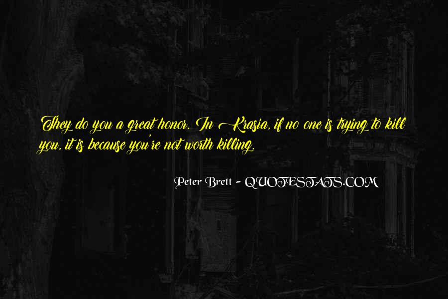 You're Not Trying Quotes #170905