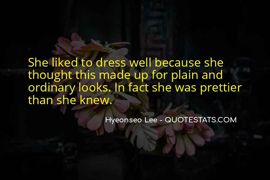 You're Prettier Than Quotes #307204