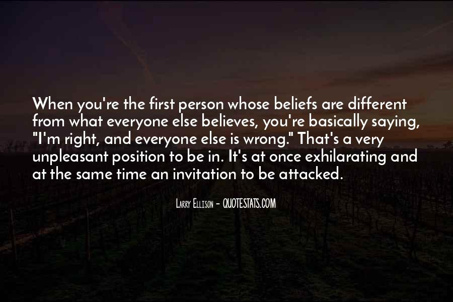 You're Right I'm Wrong Quotes #1088791
