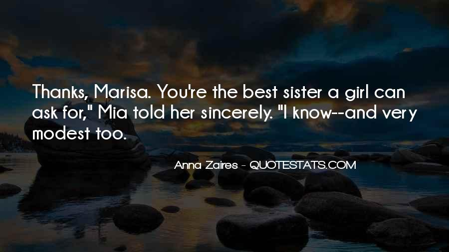 You're The Best Girl Quotes #905309