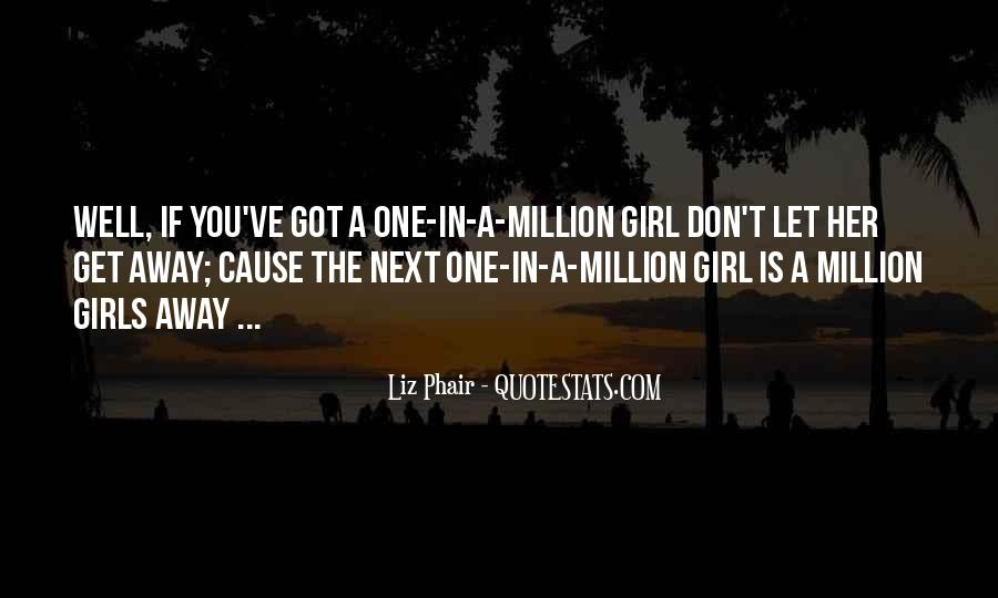 You're The One Girl Quotes #110752
