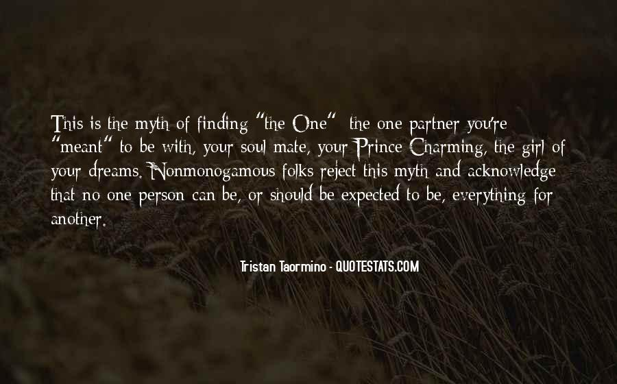 You're The One Girl Quotes #671984