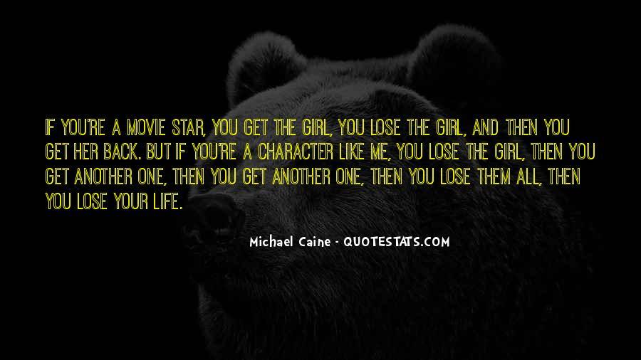 You're The One Girl Quotes #91445
