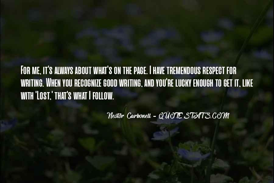 You've Lost Me For Good Quotes #1335904
