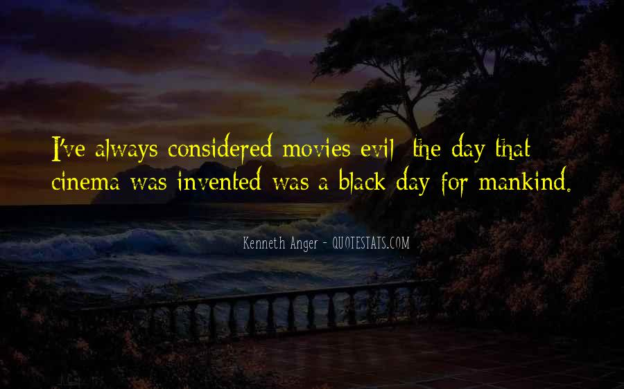 Quotes About Being Evil #10069