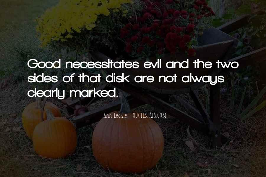 Quotes About Being Evil #17310