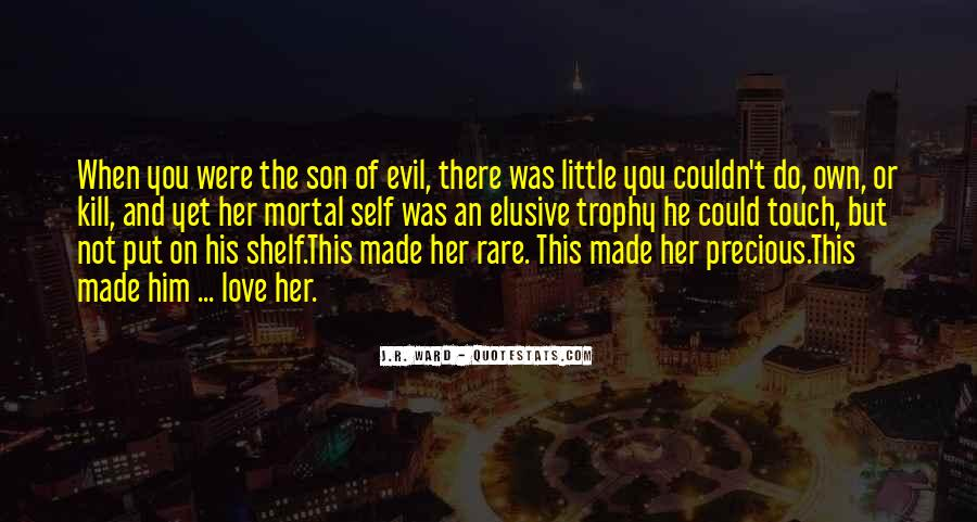 Quotes About Being Evil #18863