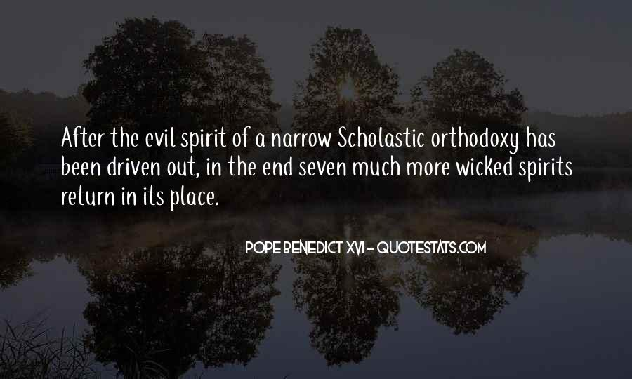 Quotes About Being Evil #19218