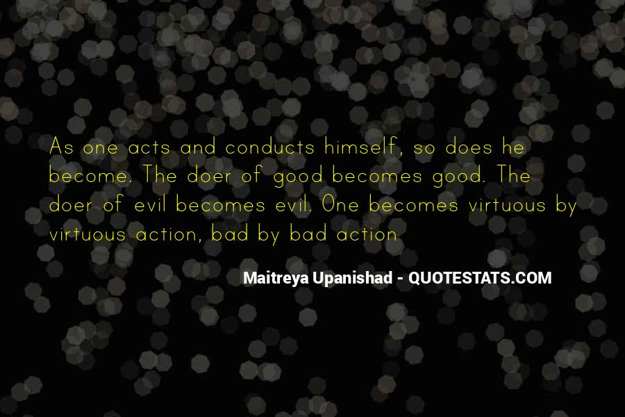 Quotes About Being Evil #2047