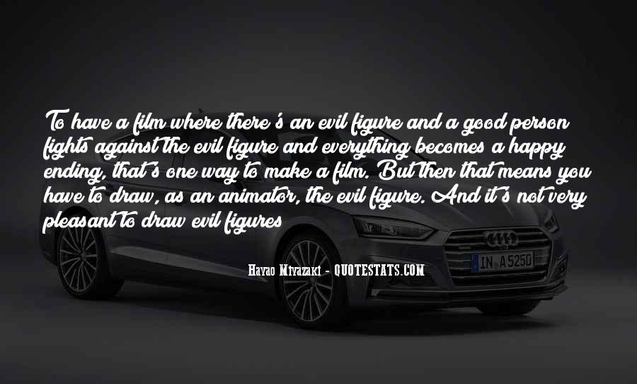 Quotes About Being Evil #2594