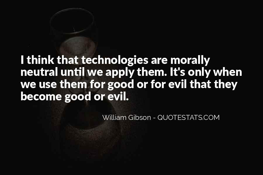 Quotes About Being Evil #3296