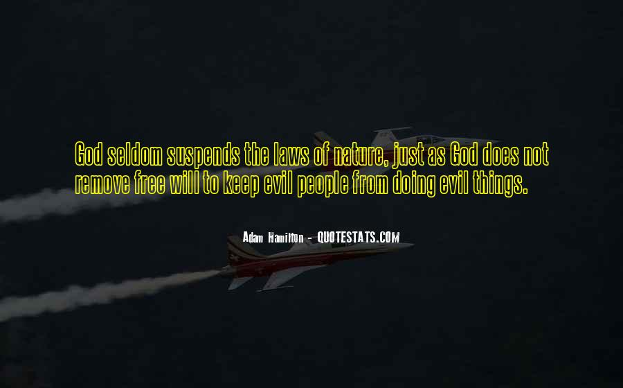 Quotes About Being Evil #7515