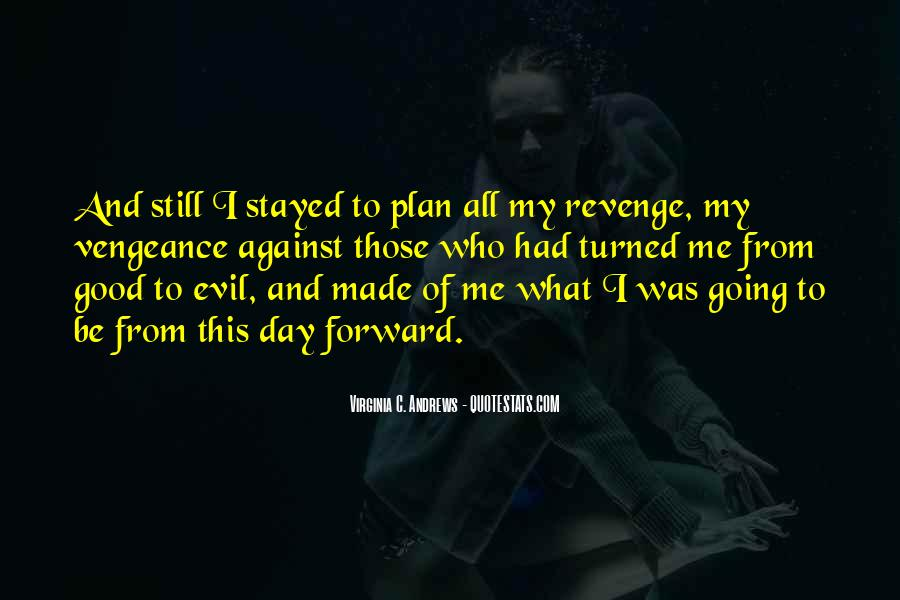 Quotes About Being Evil #9551