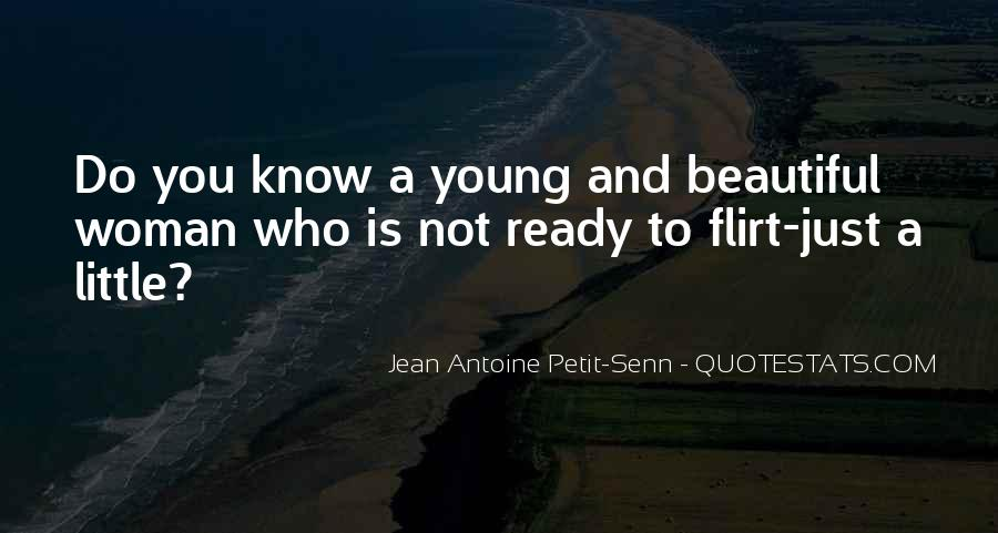 Young And Beautiful Quotes #372316