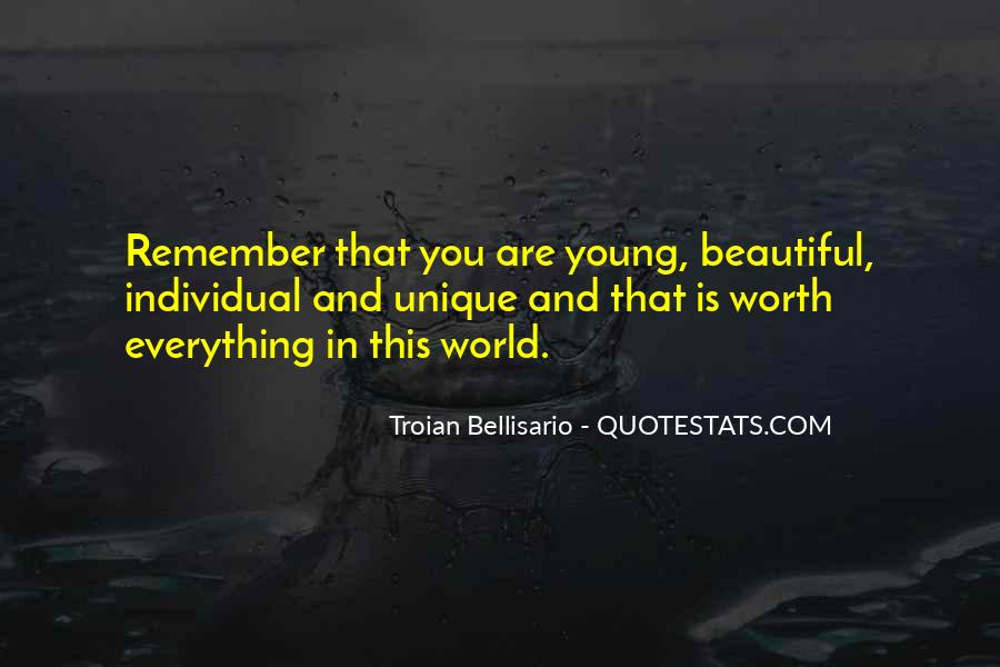 Young And Beautiful Quotes #538161