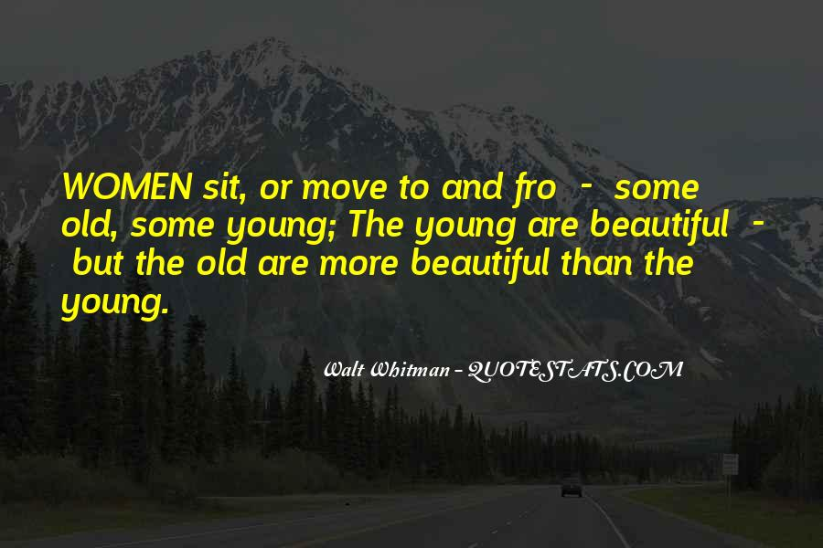 Young And Beautiful Quotes #666855