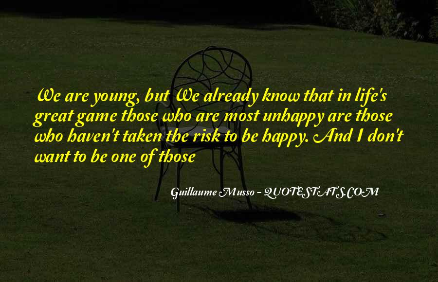 Young And Happy Quotes #1143107