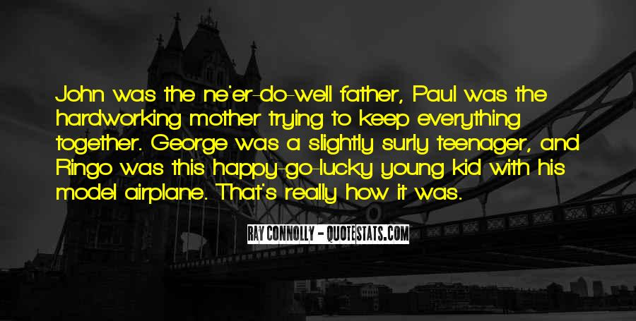 Young And Happy Quotes #1585315