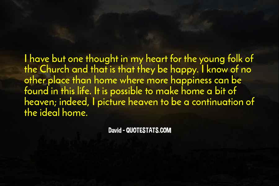 Young And Happy Quotes #1599417