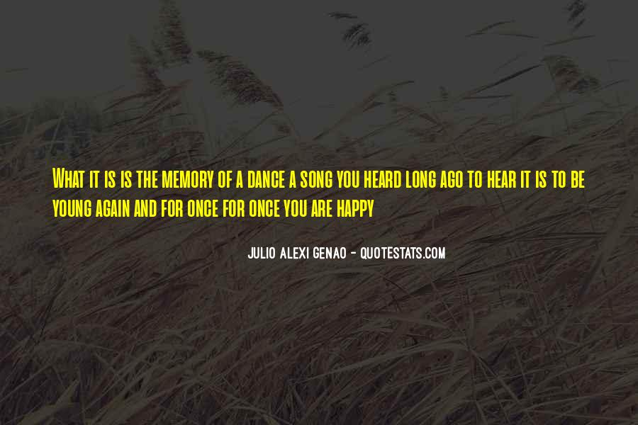 Young And Happy Quotes #1641421