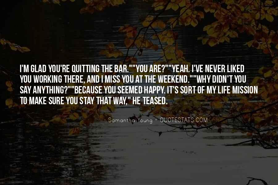 Young And Happy Quotes #182498