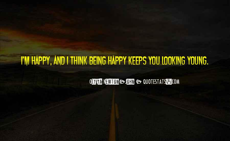 Young And Happy Quotes #439549