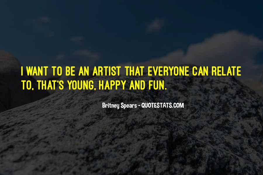 Young And Happy Quotes #85773