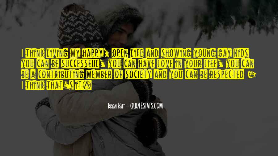 Young And Happy Quotes #950711
