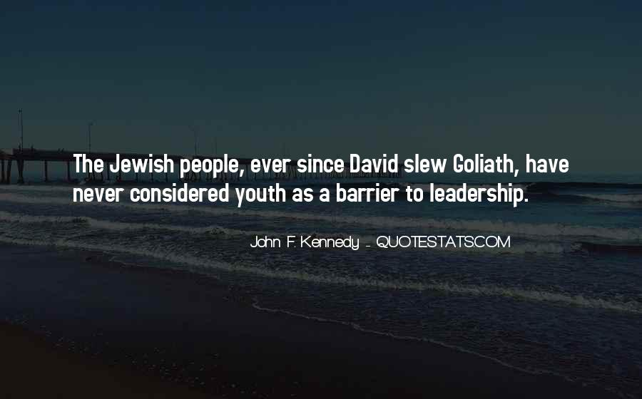 Quotes About Youth Leadership #1659995