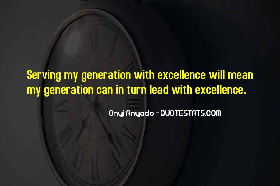 Quotes About Youth Leadership #353232