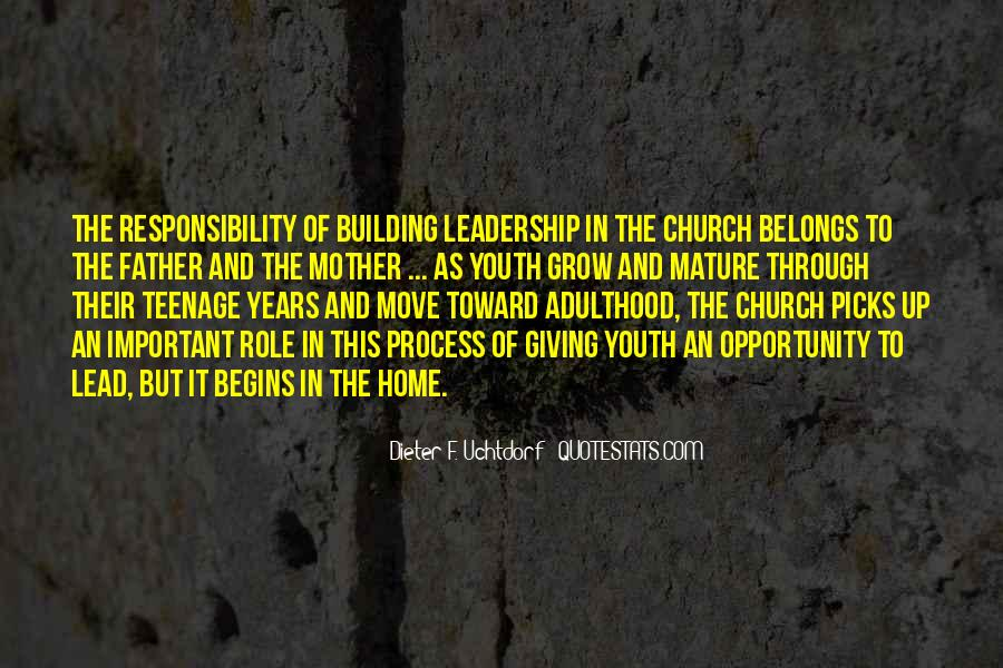 Quotes About Youth Leadership #423190