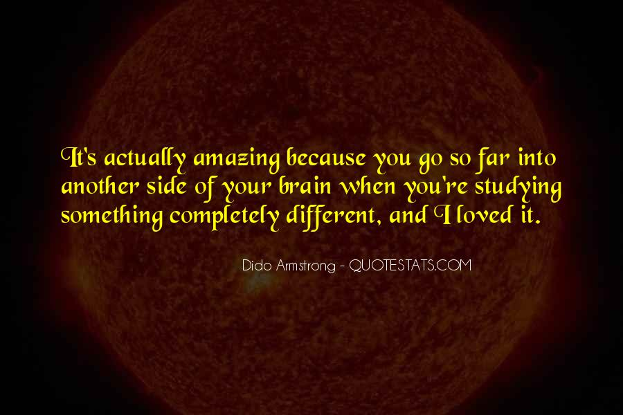Your Amazing Because Quotes #316434