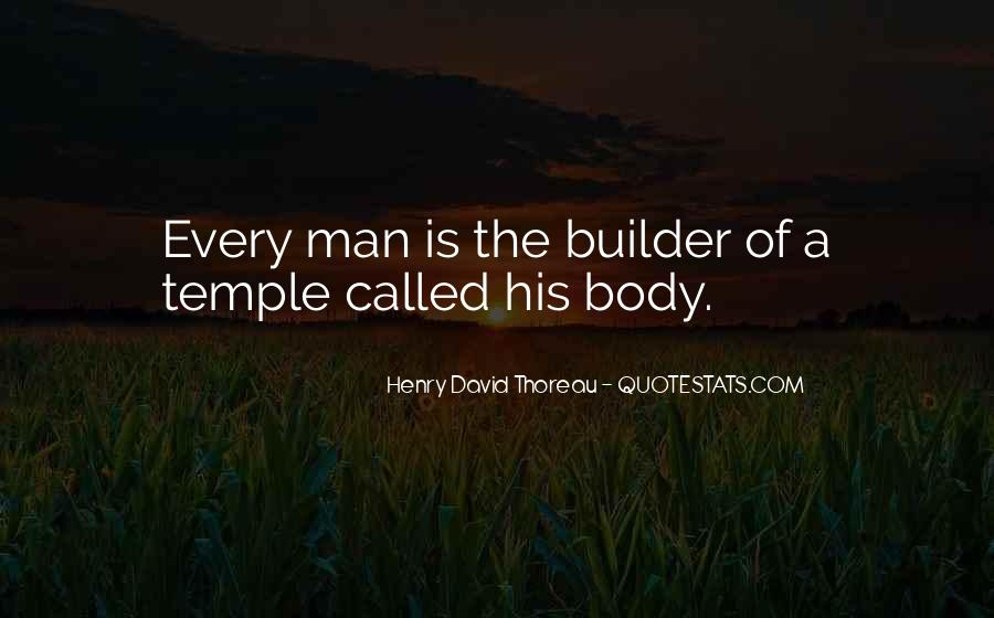 Your Body's A Temple Quotes #1135911