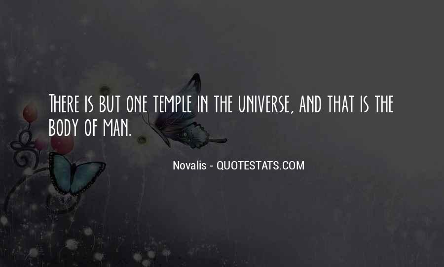 Your Body's A Temple Quotes #1250001