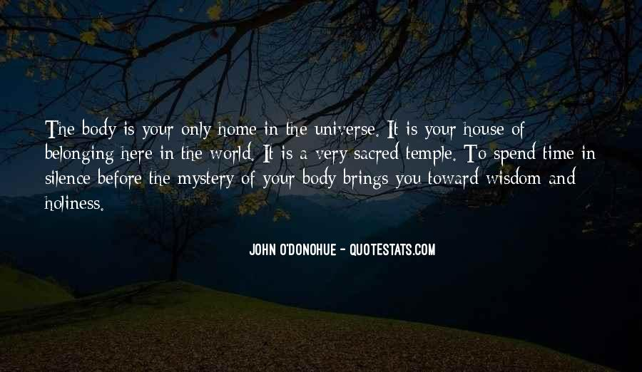 Your Body's A Temple Quotes #386307