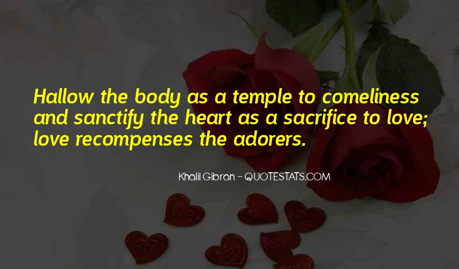 Your Body's A Temple Quotes #481180