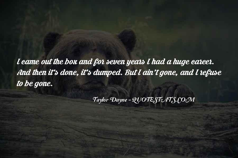 Your Dumped Quotes #352986