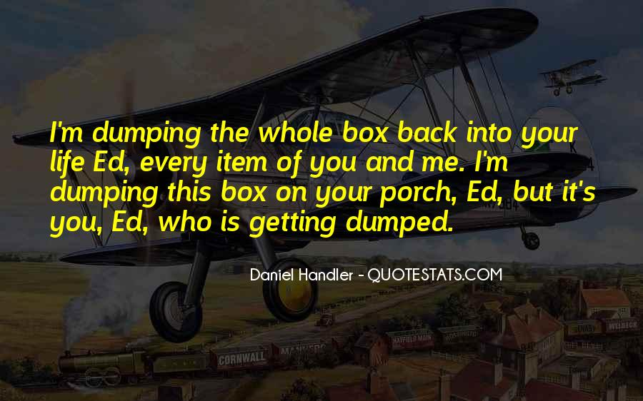 Your Dumped Quotes #901777