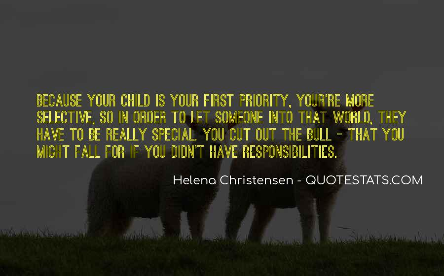Your First Child Quotes #1210653